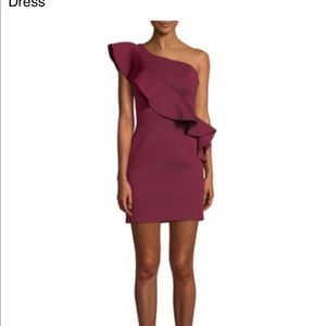 New Jovani size 4 wine dress